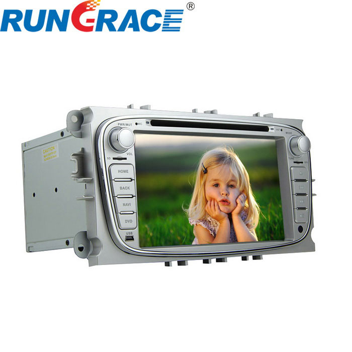 "rungrace RL-761WGDR02 7"" auto dvd-speler w / gps, CAN-bus voor ford focus"