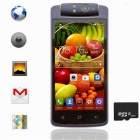 "T908 Quad-Core Android 4.2 Bar Phone w/ 4.5"" Capacitive Touch Screen / 4GB ROM / 8GB TF - Black"