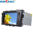 "Rungrace RL-762WGDR02 7"" Win CE 6.0 Car DVD Player w/ Bluetooth, GPS, DVB-T, CAN BUS for Ford Mondeo"