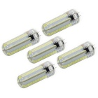 G4 7W LED Corn Bulbs White Light 840lm 6000K 152-SMD 3014 (AC 110V / 5 PCS)