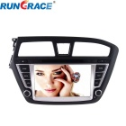 "Rungrace 8"" 2 Din Car DVD Player w/ BT, Navigation-Ready GPS, DVB-T for 2015 Hyundai I20"