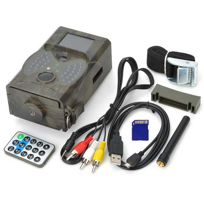 Hc300m 12mp tanche cam ra de chasse avec 16 go sd gsm - Camera chasse gsm ...