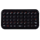 HB2100 Mini Ultradünne Bluetooth 3.0 Wireless Keyboard für iOS / Android Handy & amp; Tablet - schwarz