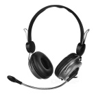 OVLENG Wired Headset w/ Mic. / Remote - Black (188.8cm-cable)