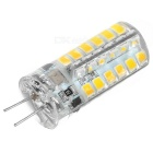 G4 3W LED Light Bulb Warm White 3200K 48-SMD - White + Orange (5PCS)