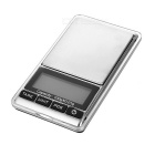 "KL-16 1.8"" LCD Digital Jewelry Scale - Black + Silver (100g / 0.01g)"