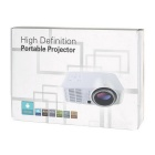 Android 4.2.2 1500lm LED Projector w/ HDMI, USB, RJ45 - White + Black