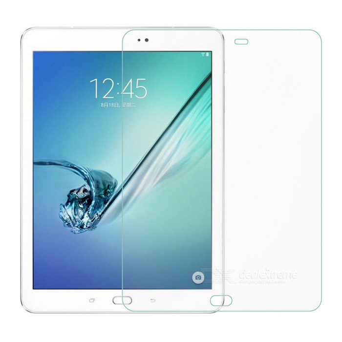 Protective PET Screen Protectors for Samsung Galaxy Tab S2 9.7 T810 / T815 - Transparent (3 PCS)Screen Protectors<br>Quantity3 DX.PCM.Model.AttributeModel.UnitMaterialPETCompatible BrandSamsungScreen TypeClearCompatible SizeOthers,9.7FunctionDustproof,Scratch-proofPacking List3 x Screen protectors3 x Cleaning cloths<br>