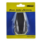 Car USB Power Charger w/ Protective Cover - Black (12~24V)