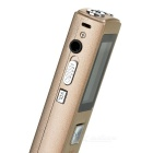 Noise Reduction Digital Voice Recorder MP3 Player - Rose Golden (8GB)