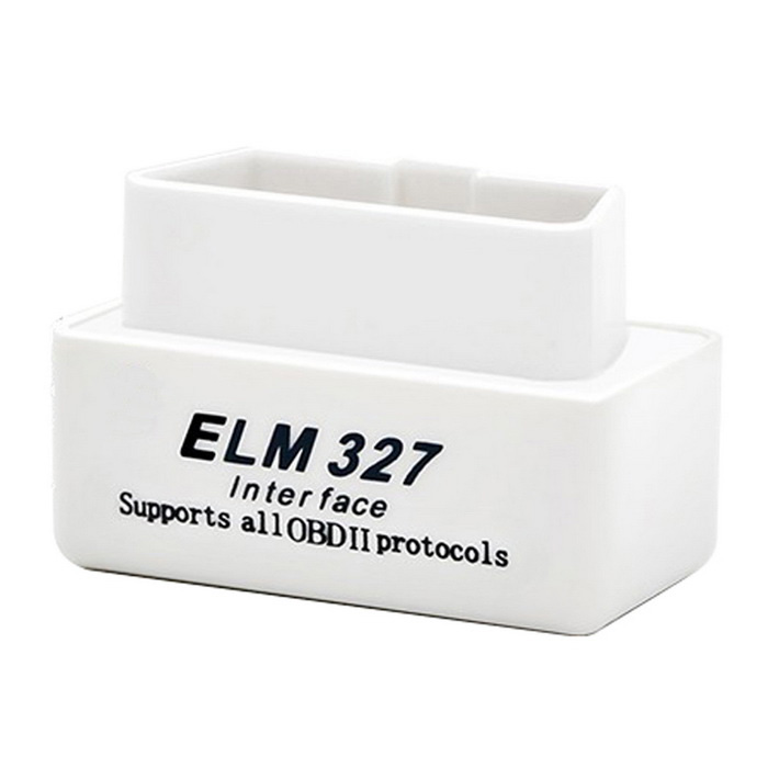 ELM327 OBDII V2.1 bluetooth auto diagnostische scan tool - wit