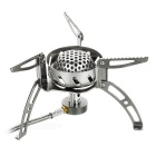BRS BRS-108 1.8KW Picnic Cooking Infrared Gas Stove Burner - Silver