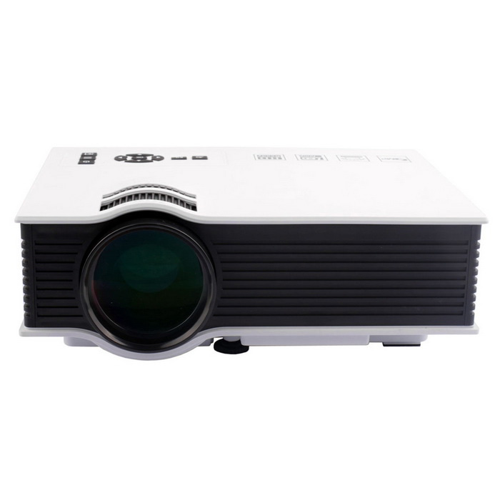 UC40 55W Mini Home LED Projector w/ HDMI, SD, Remote Control - White