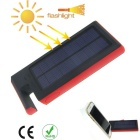 Universal 6000mAh Solar Power Mobile Power Bank for Samsung, Xiaomi, IPHONE + More - Black + Red