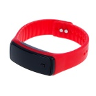 Unisex Fashion Sports Rubber Band LED Digital Wrist Watch - Red