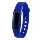 Waterproof Silicone Wristband LED Digital Watch - Sea blue (1 x 1130)
