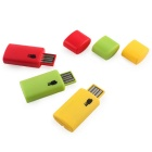 Portable USB 2.0 Card Reader - Keltainen