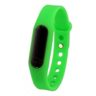 Waterproof Silicone Wristband LED Digital Watch - Green (1 x 1130)