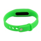Waterproof Silicone Wristband LED Digital Watch - Green (1*1130)