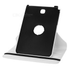 360' Rotating Smart Case w/ Stand for Samsung Tab A 8.0 - White