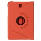 360' Rotating Smart Case w/ Stand for Samsung Tab A 8.0 - Orange