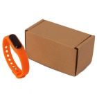 Waterproof Silicone Wristband LED Digital Watch - Orange (1*1130)