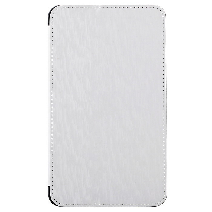 "Toothpick Grain PU Case w/ Stand for Samsung Tab 4 7"" T230 - White"