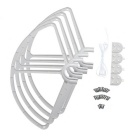 Protective Guard Bumper Protector for DJI Phantom 2 - White (4PCS)