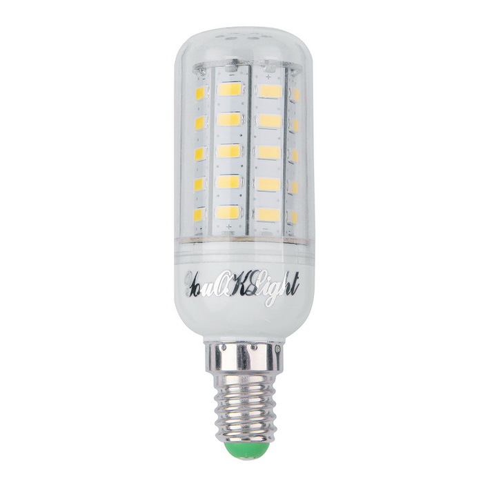 youoklight e14 9w led corn bulb lamp cold white 48 smd 5730 110v free shipping dealextreme. Black Bedroom Furniture Sets. Home Design Ideas