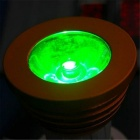 E27 3W dimbare RGB LED-lamp w / afstandsbediening - golden (AC 85 ~ 265V)
