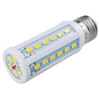 E27 10W - 42 SMD 5730 LED 1050lm 3000K Warm White LED Light Lâmpada de milho (200 ~ 240V)