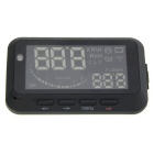 "3.5"" Screen Car Head UP Display w/ Bluetooth Diagnostic + OBD II Interface - Black + White"