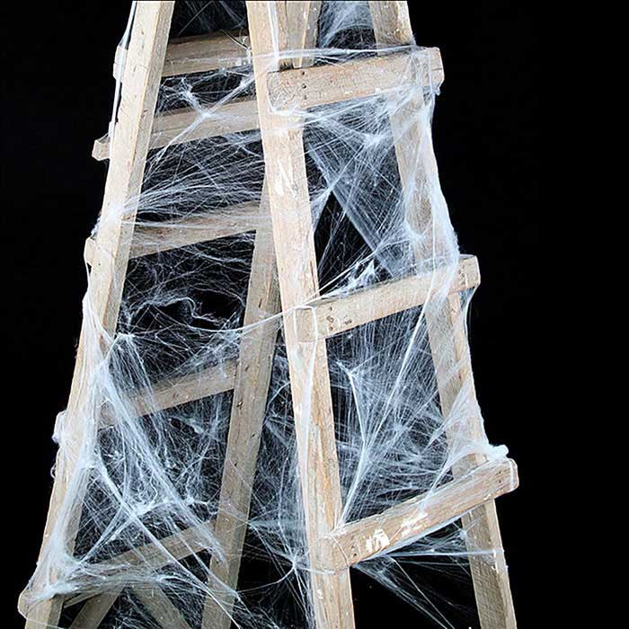 Web Decor: Stretchable Spiders Wed Decoration Props For Halloween