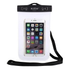 RUITAI Universal Protective Waterproof Case Pouch w/ Strap for IPHONE 6 + More - Black + White