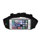 Sports Adjustable Nylon Waist Band for IPHONE 6 / 6S PLUS - Black