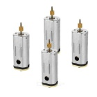 Motor for WL V262 V323 V333 V353 V66 R/C Quadcopter - Silver (4PCS)