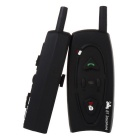 VNETPHONE 500M Motorcycle Helmet Bluetooth Interphone / Outdoor Sports Interphone - Black (1Pair)