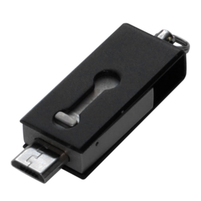 OTG micro USB / unidades flash USB para teléfono / tablet PC - negro (32 GB)
