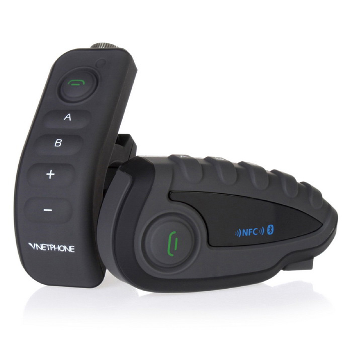 VNETPHONE V8 1200m 5 Riders Motos Bluetooth Casco Intercomunicador