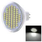 MR16 3W LED Cup Bulb Cool White Light 180lm 60-SMD 3528 (DC 12V)