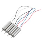 720 Motor 50000rpm Coreless Quadcopter para Hubsan X4 - Plata (4PCS)