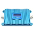 LCD Display 2G GSM 900MHz GSM980 Mobile Phone Signal Booster w/ Antenna - Blue