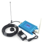LCD Display 2G GSM Mobile Phone Signal Booster w/ Antenna - Blue