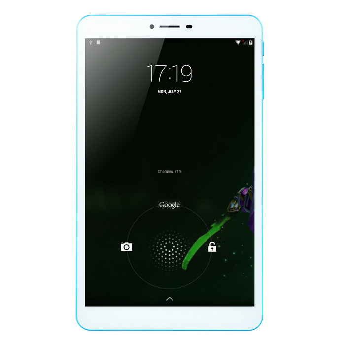 "COLORFLY G808_Oc Tablet PC de 8 ""3G com 2 GB de RAM, ROM de 16 GB -White (UE Plug)"