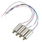 CW & CCW Motors Set para DFD F183 R / C Quadcopter - Prata (4PCS)