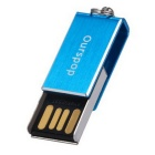 Ourspop Multi-function Portable 16GBUSB 2.0 Flash Memory Drive for Smart Phone / Tablet PC - Blue