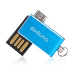 Ourspop 16GB USB 2.0 Flash Memory Drive for Phone, Tablet PC - Blue