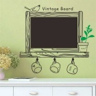 New Style Office Supplies Blackboard Sticker Wall Decal Vinyl Wall Sticker - Black