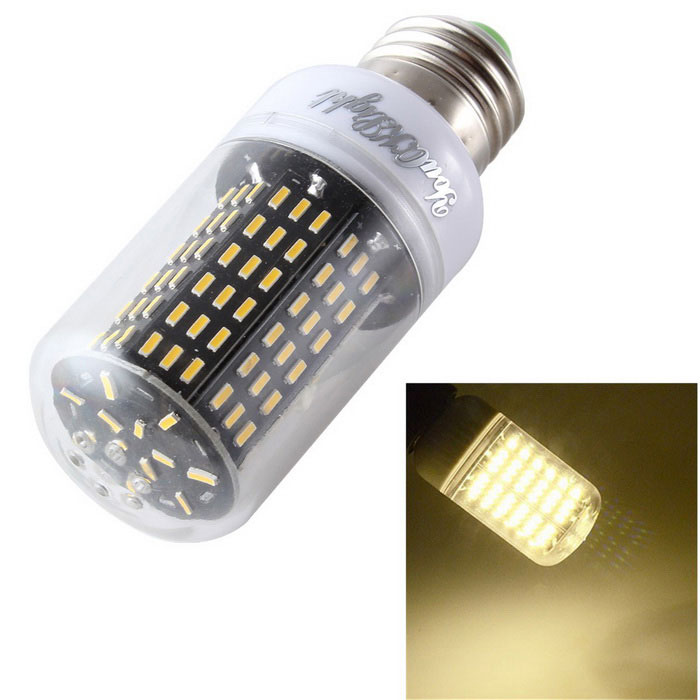 Youoklight YK1022 E27 15W lampe ampoule LED maïs blanc chaud 3000K 138-SMD