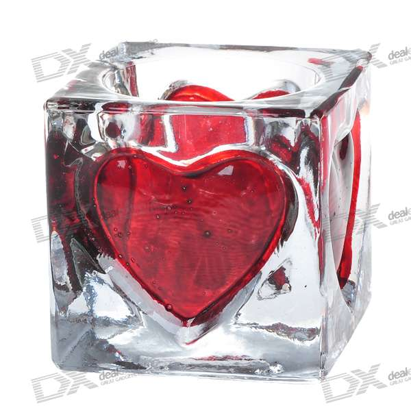 Stylish Love Heart Shaped Candle Holder